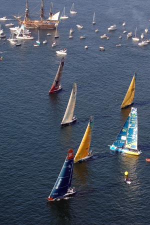 VOR in port race no. 1 start