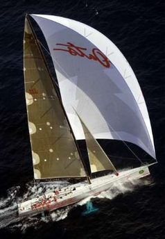 Wild Oats in the Sydney/Hobart race